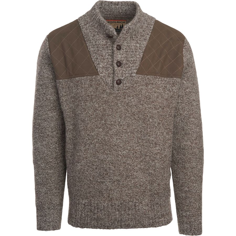 Woolrich Logan Summit Sporting Classic Henley Sweater ...