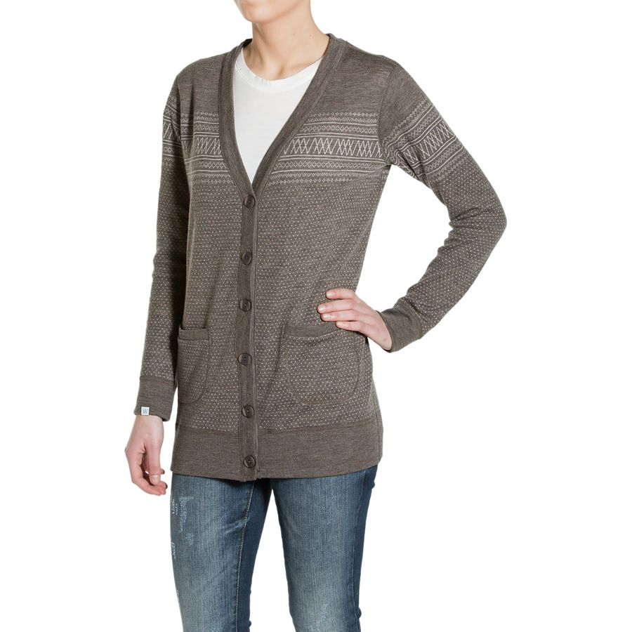 We Norwegians Setesdal Boyfriend Cardigan - Womens