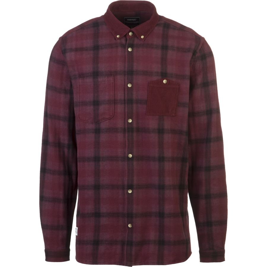 Wesc Rein Flannel Shirt Men 39 S Up To 70 Off Steep