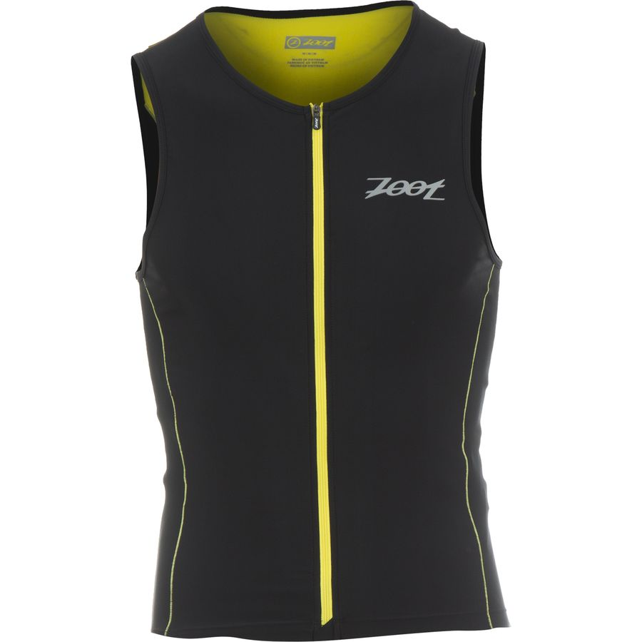 ZOOT Performance Tri Full-Zip Tank Top - Mens