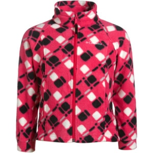 Shop for Columbia Benton Springs Printed Fleece Jacket - Girls'