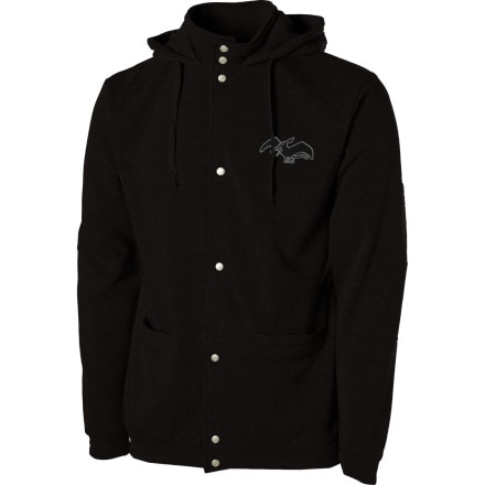 photo: Airblaster Snap Tech Full-Zip Hooded Jacket fleece jacket