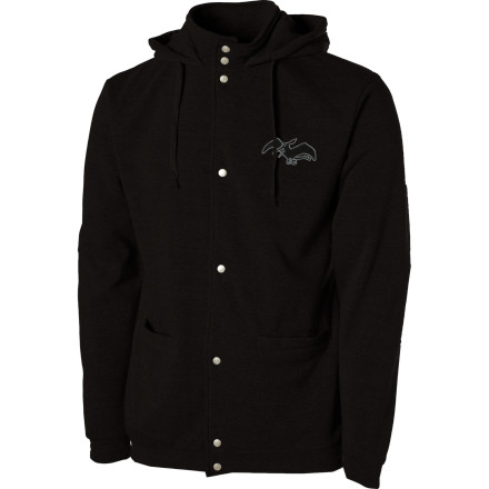 photo: Airblaster Snap Tech Full-Zip Hooded Jacket