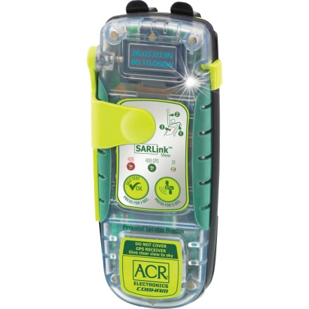 ACR SARLink View 406 GPS Personal Locator Beacon