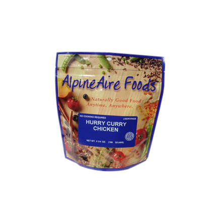 AlpineAire Hurry Curry Chicken Entre