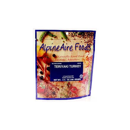 photo: AlpineAire Foods Teriyaki Turkey meat entrée