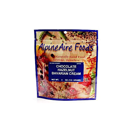 AlpineAire Foods Chocolate Hazelnut Bavarian Cream