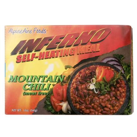 AlpineAire Mountain Chili - Meat Free - Self Heating Meal