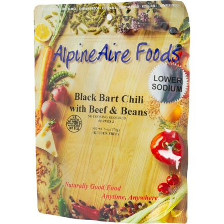 photo: AlpineAire Foods Black Bart Beef Chili with Beans