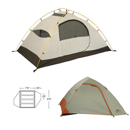 ALPS Mountaineering Vertex 4 Tent 4-Person 3-Season