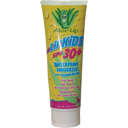 photo: Aloe Up Lil' Kids SPF 30+ sunscreen