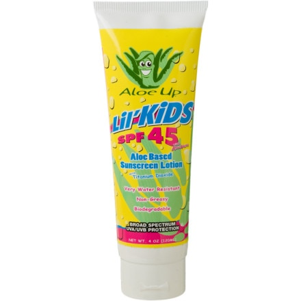 photo: Aloe Up Lil' Kids SPF 45 sunscreen