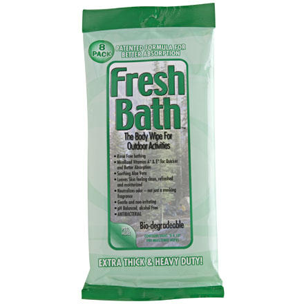 photo: Adventure Medical Kits Fresh Bath Body Wipes