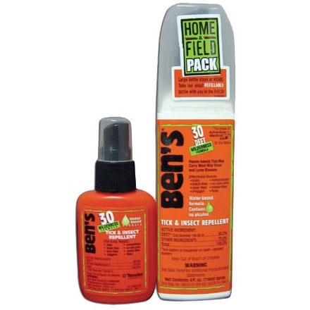 Adventure Medical Ben's 30% Deet Home & Field Pack Tick & Insect Repellant