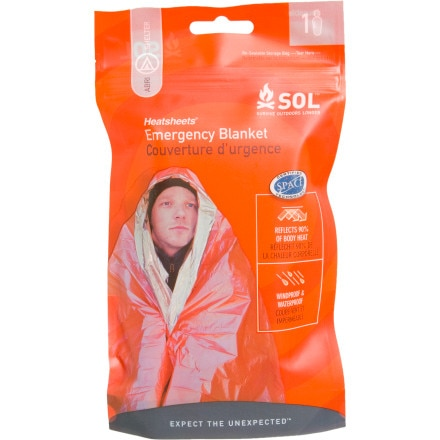 photo: SOL Emergency Blanket