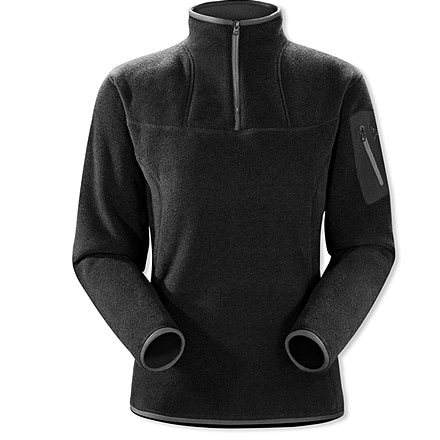 photo: Arc'teryx Women's Covert Collar Zip fleece top