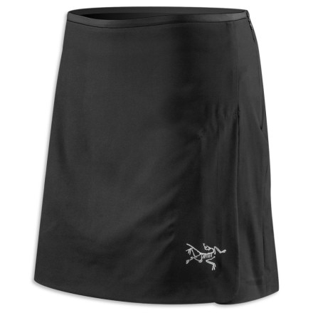 photo: Arc'teryx Visio Skort running skirt