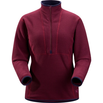 photo: Arc'teryx Women's Delta AR Zip fleece top