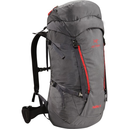 Shop for Arc'teryx Nozone 55 Backpack - 3234-3478cu in