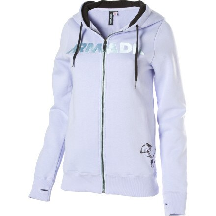 Armada I.W. Fleece Full-Zip Hooded Sweatshirt - Women's
