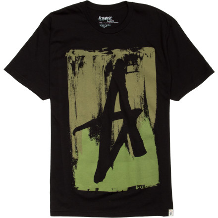 Altamont Smeared T-Shirt - Short-Sleeve - Men's