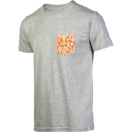 Altamont Fungi Pocket T-Shirts - Short-Sleeve - Men's