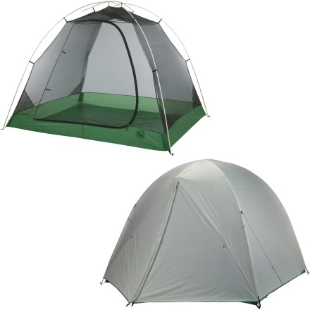 Big Agnes Soda Mountain SL 4 Tent: 4-Person 3-Season