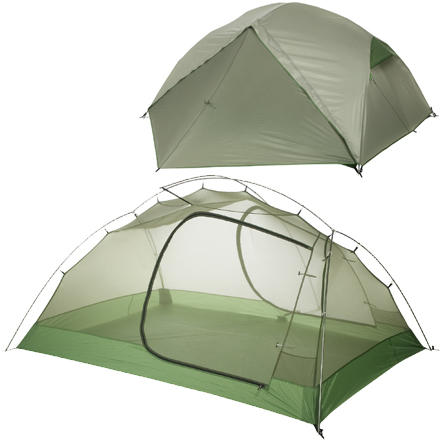Big Agnes Emerald Mountain SL3 Super Light Tent: 3-Person 3-Season