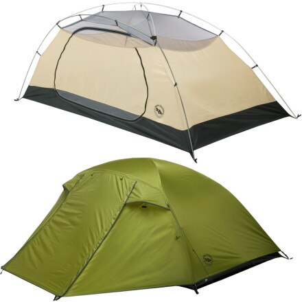 Big Agnes Lynx Pass Tent: 2-Person 3-Season