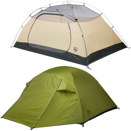 Big Agnes Lynx Pass Tent: 3-Person 3-Season