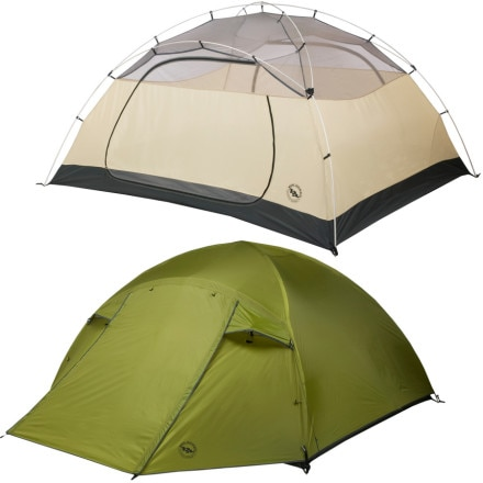 Big Agnes Lynx Pass Tent: 4-Person 3-Season