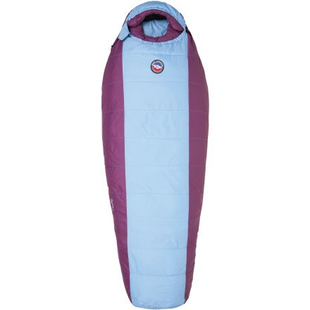 Big Agnes Lily Sleeping Bag: 15 Degree Synthetic - Teen Girls'