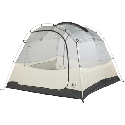 Big Agnes Wolf Mountain Tent: 4-Person 3-Season