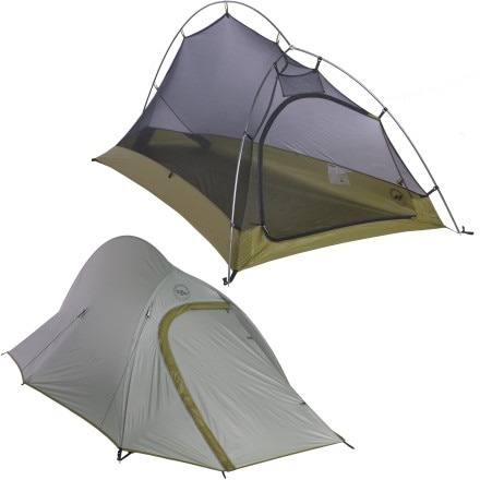 Shop for Big Agnes Seedhouse SL1 Tent: 1-Person 3-Season