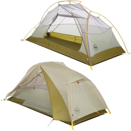 Big Agnes Fishhook UL Tent: 1-Person 3-Season
