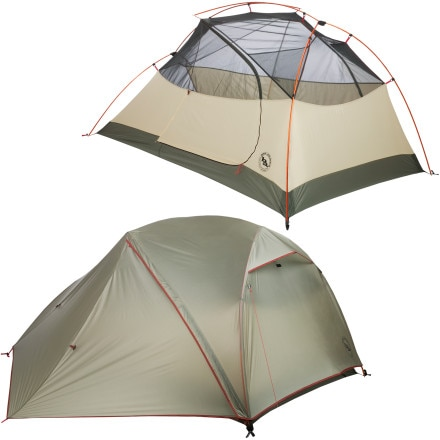 Big Agnes Jack Rabbit SL Tent: 2-Person 3-Season