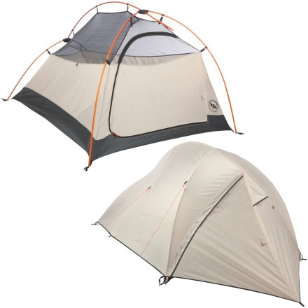 Big Agnes Burn Ridge Outfitter 2 Tent: 2-Person 3-Season