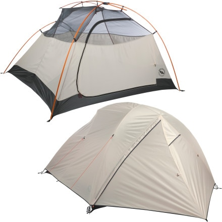 Big Agnes Burn Ridge Outfitter 3 Tent: 3-Person 3-Season
