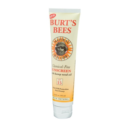 photo: Burt's Bees Chemical-Free Sunscreen SPF 15