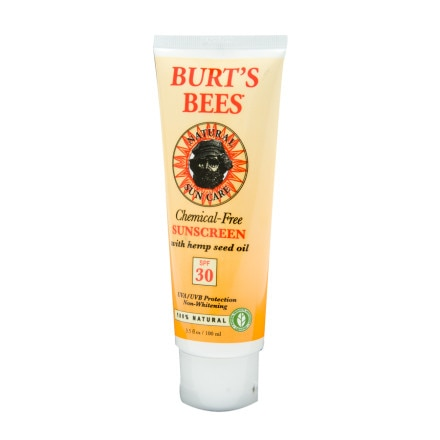 photo: Burt's Bees Chemical-Free Sunscreen SPF 30