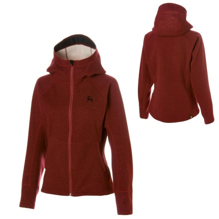Backcountry Siphon Wool Hooded Jacket - Women's