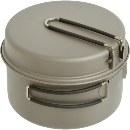 photo: Backcountry.com Titanium Cookset - 1650ml pot/pan
