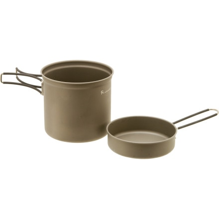 photo: Backcountry.com Titanium Cookset - 1100ml
