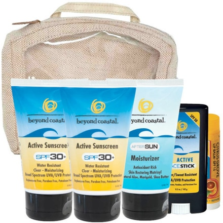 Beyond Coastal SPF 30 Active Travel Kit