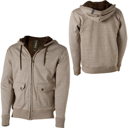 Billabong Heavy Full-Zip Hooded Sweatshirt  - Men's