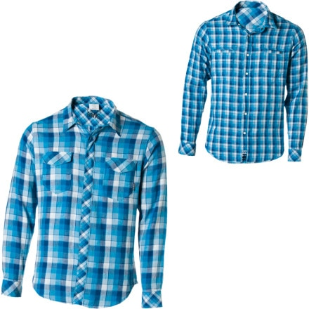 Billabong Stoops Reversible Flannel Shirt - Long-Sleeve - Men's