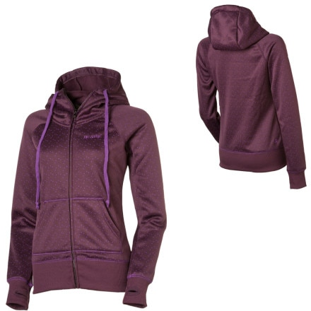 Billabong Linger Hi-Neck Full-Zip Hooded Sweatshirt - Women's