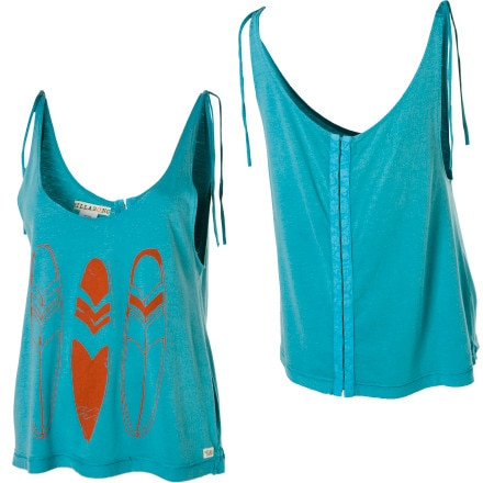 Billabong Costa Shoulder Ties Tank Top - Women's