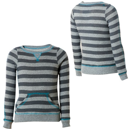 Billabong Silly Stripe Pullover Sweatshirt - Little Girls'