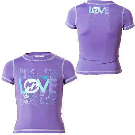 Billabong Liv Rash Guard - Short-Sleeve - Little Girls'